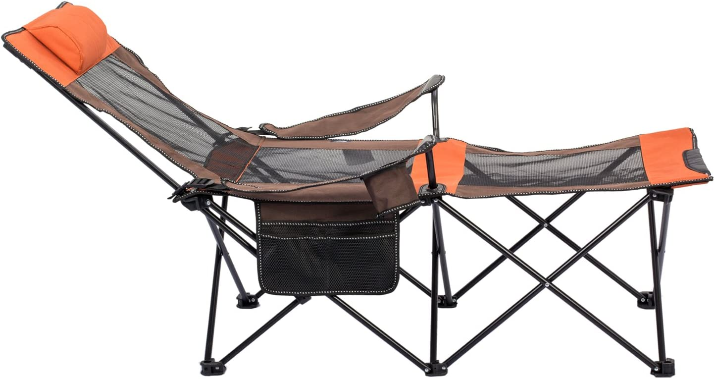 porta bebidas y smartphone ligera plegable con reposabrazos Ducomi Yosemite Silla plegable de camping Sill/ón exterior para pesca y camping con bolsa transportable sillas de playa y playa