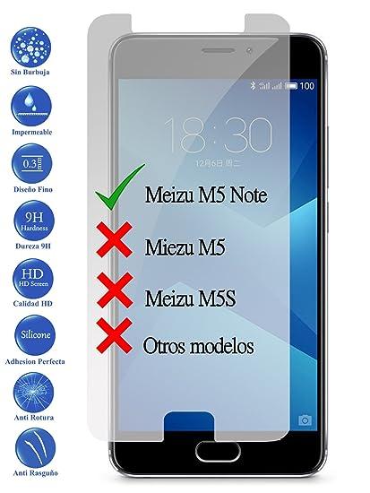 Todotumovil Protector de Pantalla Meizu M5 Note de Cristal ...
