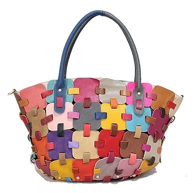 Lederhandtasche Damen Ledertasche Elegante Schulter Messenger Bag ...