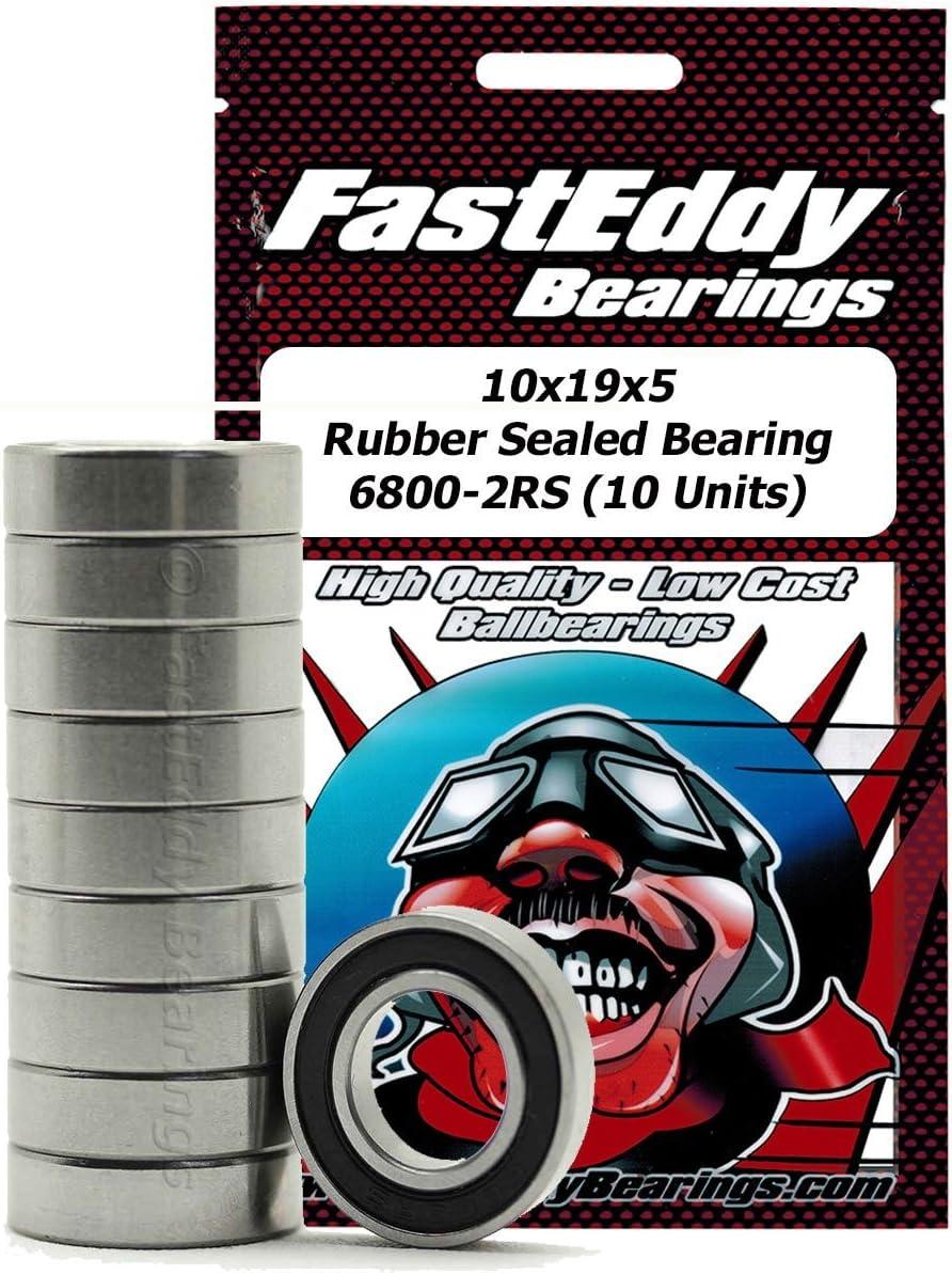 RC Bearings 10 Bearing Shielded 5x10 HPI SAVAGE X