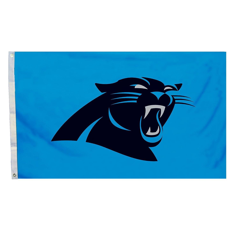 amazon com nfl carolina panthers flag with grommets 3 x 5 feet