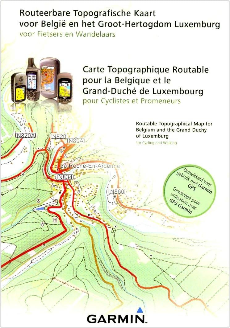 Garmin Topo Belux - Mapas para GPS, cobertura geográfica Belux (Bélgica Y Luxemburgo): Amazon.es: Deportes y aire libre