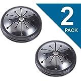 (2 PACK) WC03X10010 SPLASH GUARD FOR GE (AP5330351 PS3505442 2134472 WC03X0111 WC03X0125 WC03X10002)