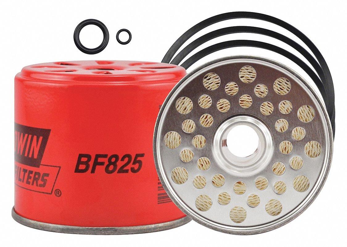 Fuel Filter, 2-13/16 x 3-7/16 x 2-13/16In BALDWIN FILTERS