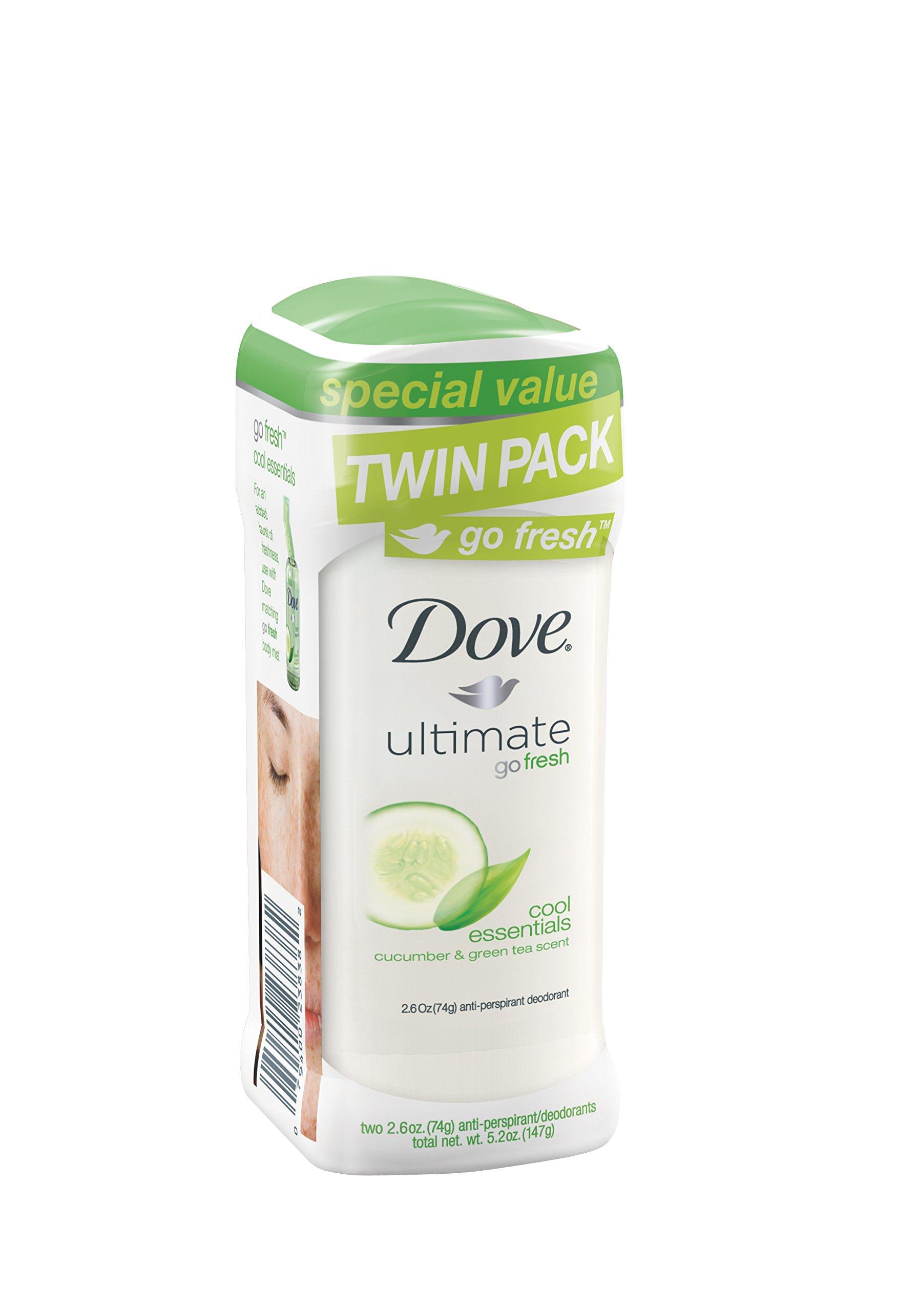 Dove Go Fresh Anti-Perspirant Deodorant Cool Essentials Cucumber &Green Tea 2.. 4