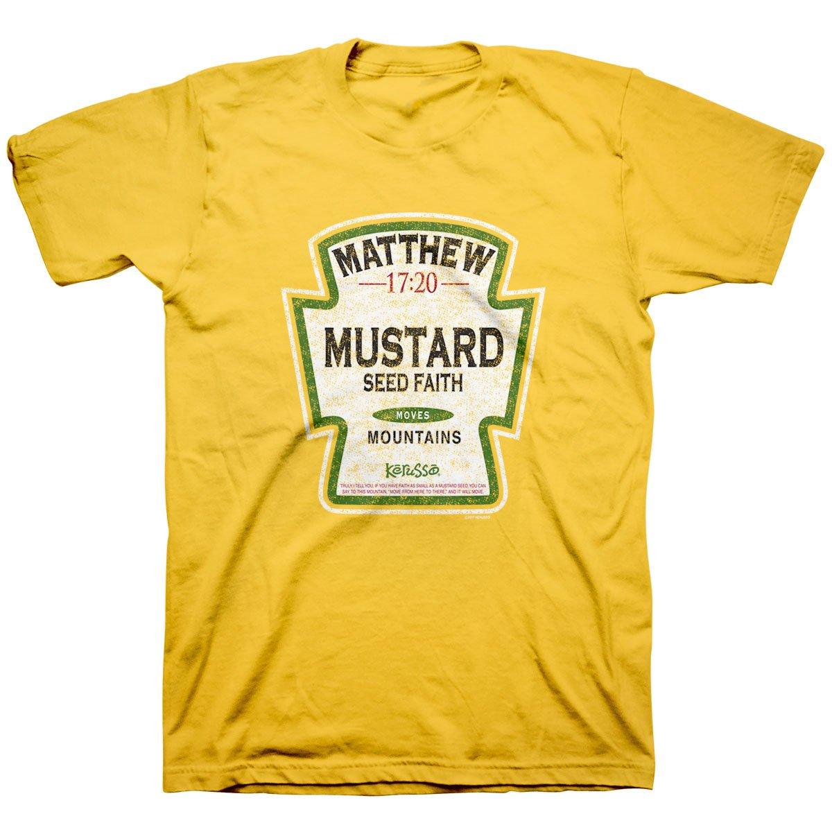 Mustard Seed Faith Moves Mountains Christian T-Shirt