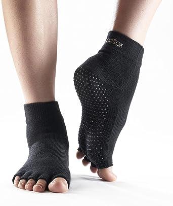 Neuf avec étiquettes etc. X-Small Pilates ToeSox Women/'s Plaice Half Toe Grip Chaussettes de Yoga