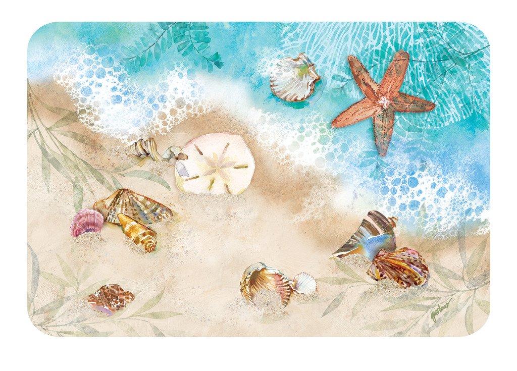 Vinyl Placemats Nautical Decor Beach Decor Place Mats