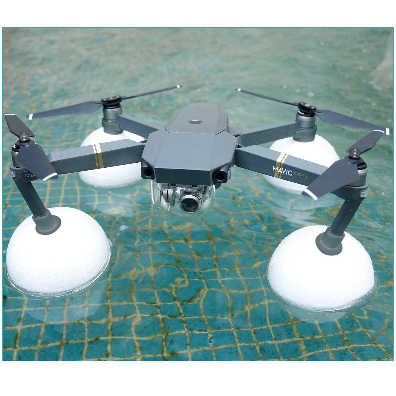 Neewer スノーウォーターモッド DJI Mavic Droneを雪や水から守る プール、川、湖、海などでの撮影に適用(白) B076KSDRW5
