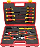 BOOHER 0200105 15-Piece 1000V Insulated Tools Set