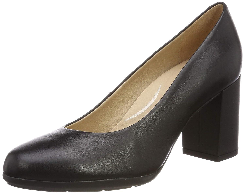 Geox D New Annya A, schuhe de Tacón para damen schwarz (schwarz C9999)