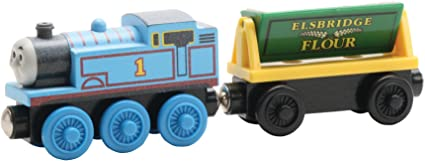 Learning Curve Wooden Railway THOMAS The TANK Engine TRAIN THOMAS /& FLOUR CAR