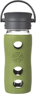 product image for Lifefactory 12-Ounce Insulated Glass Hot Tea & Coffee Travel Mug with Cafe Cap