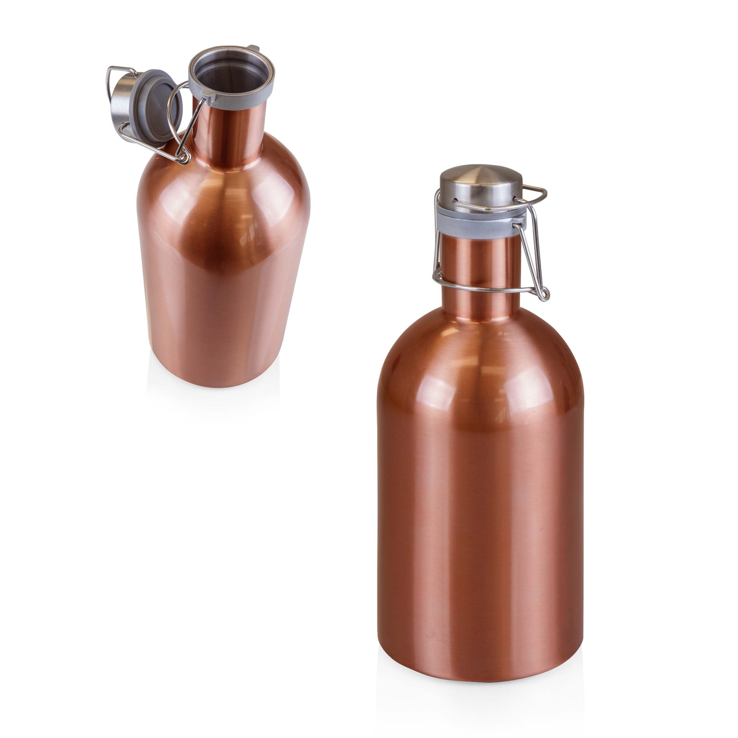 Stainless Steel 64-Ounce Beer Growler by LEGACY - a Picnic Time Brand by LEGACY - a Picnic Time Brand (Image #3)