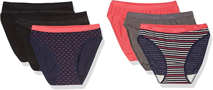 Slip Femme Dim Les Pockets Coton