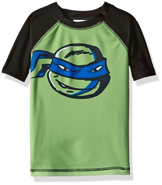 7bef5aa040 Nickelodeon Big Boys' Teenage Mutant Ninja Turtles Rashguard, Green, ...