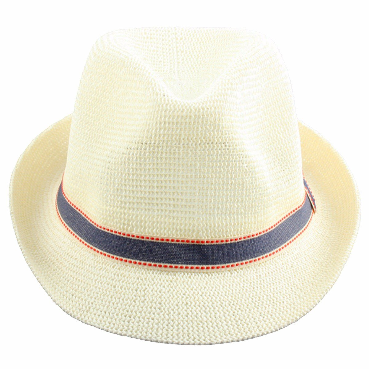 6c6f1333801105 Fedoras Beathable Straw Panama Hat AM0401-2 Samtree Fedora Hats for Women  Men
