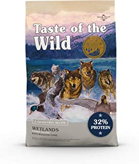 product image for Taste of the Wild Grain Free High Protein Real Meat Recipe Wetlands Premium Dry Dog Food