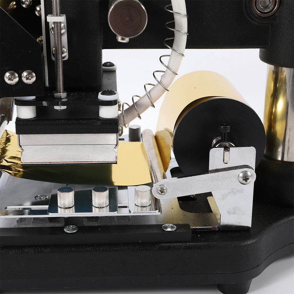 Foil Stamping Machine Hot Foil Stamping Machine Tipper Stamper Bronzing w//Sliver//Gold Foil Paper