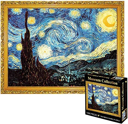 2000 Pieces JIGSAW famous painting eurographics Kids Adult Puzzle