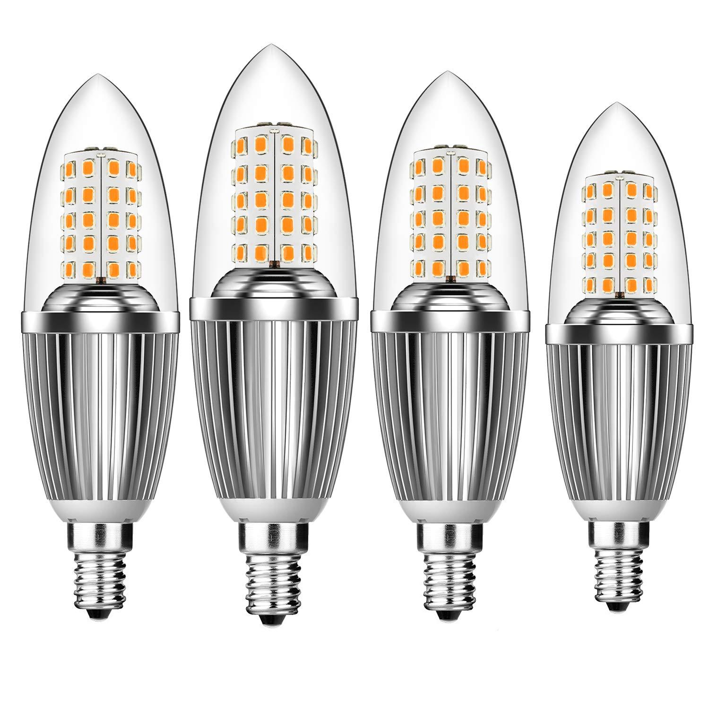 hzsane e14 led candle bulbs 12w 100w incandescent equivalent 3000k warm ebay. Black Bedroom Furniture Sets. Home Design Ideas