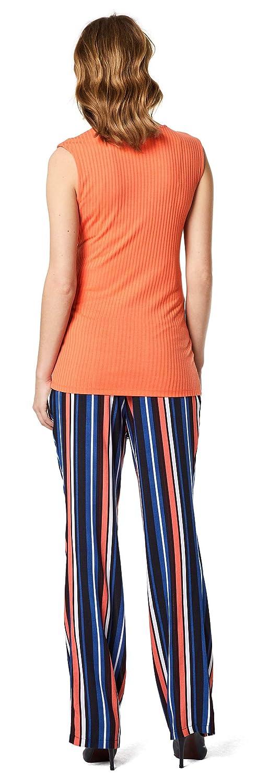 Supermom Damen Pants Utb Blue Stripe Umstandshose