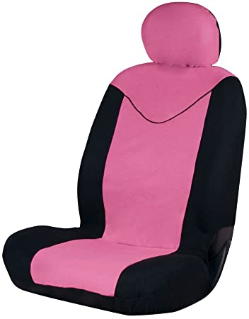Sumex Unicorn Universal Single Padded Foam Front Car Seat Cover Pink