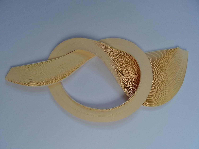 creme 5 mm Quilling Papierstreifen 100 St/ück