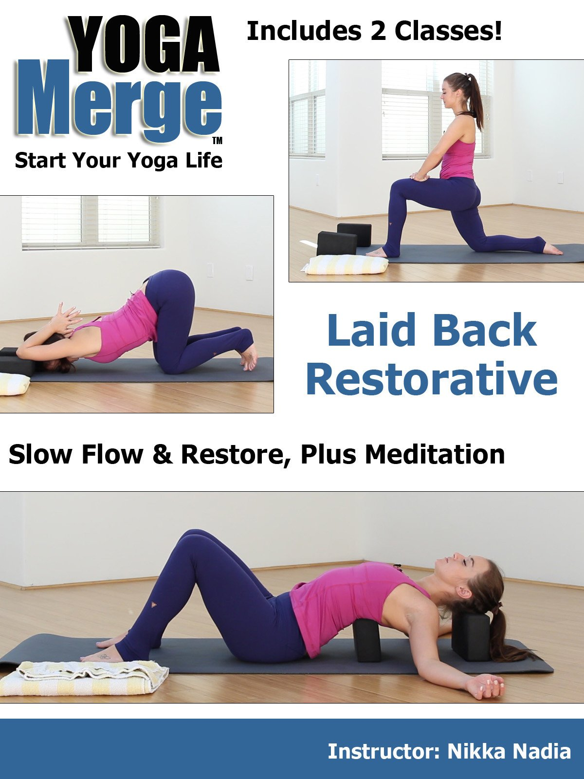 Amazon.com: Laid Back Restorative Yoga Flow and Kindness ...