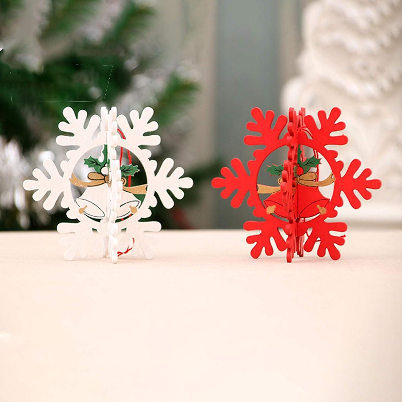 40 Piezas de Colgantes Navide/ñOs de Madera Adornos Colgantes de Madera Etiquetas de Regalo Para Fiestas con 40 Piezas de Cuerda Estrellas Calcetines Bola /áRbol de Navidad Para Manualidades Decoraci/ón