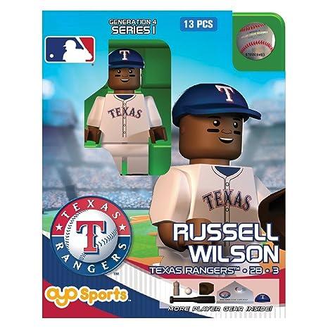 new arrival 3e503 e7a4c Amazon.com: Russell Wilson OYO MLB Texas Rangers G4 Series 1 ...