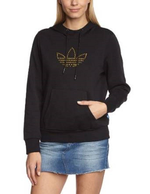 adidas Damen Sweatshirt Trefoil Logo Kapuzen-Top: Amazon.de: Sport &  Freizeit