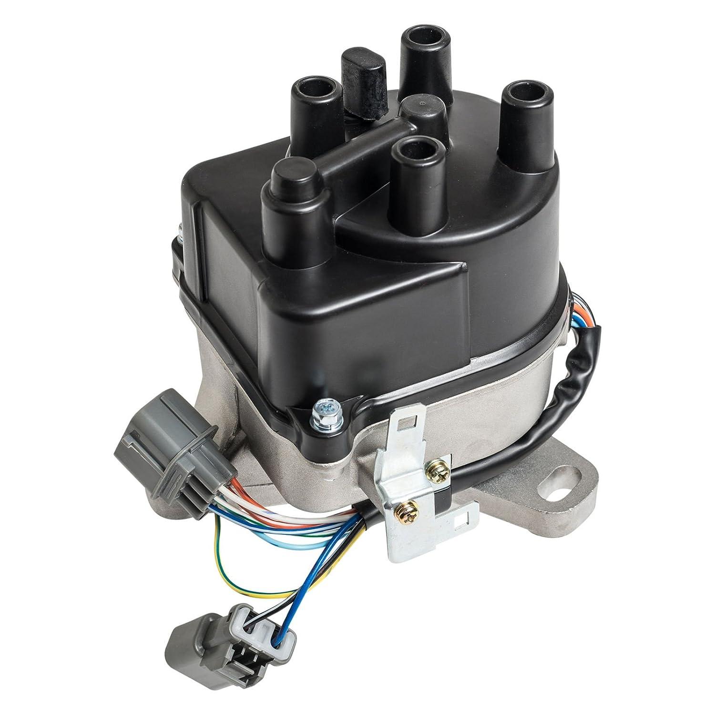 Ignition Distributor For 92 96 Honda Prelude 22l Jdm H22a4 Obd2 Wiring Diagram H22a S Vtec Fits Td 60u Td60u Automotive