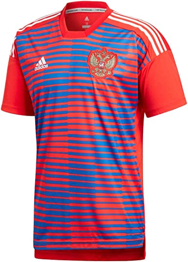 adidas Russland Heim Pre-Match - Camiseta. Hombre: Amazon.es: Ropa ...