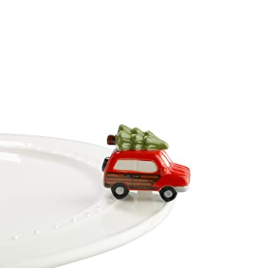 Nora Fleming Hand-Painted Mini: Just Like the Griswolds (Woody Van with Tree) A147