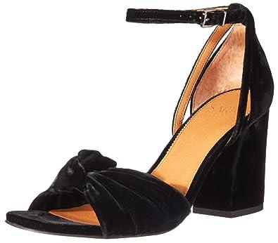 1e01df09b1 Amazon.com | Franco Sarto Women's Edana Ankle Strap Sandal | Heeled ...