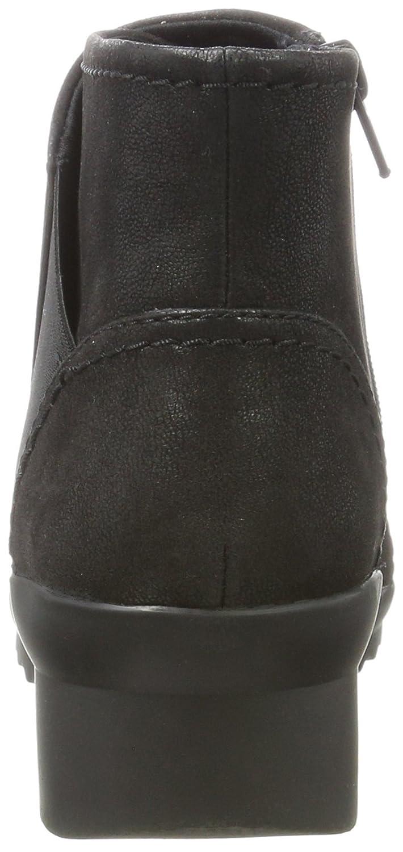 Caddell Rush, Zapatillas Altas para Mujer, Plateado (Bronze), 38 EU Clarks