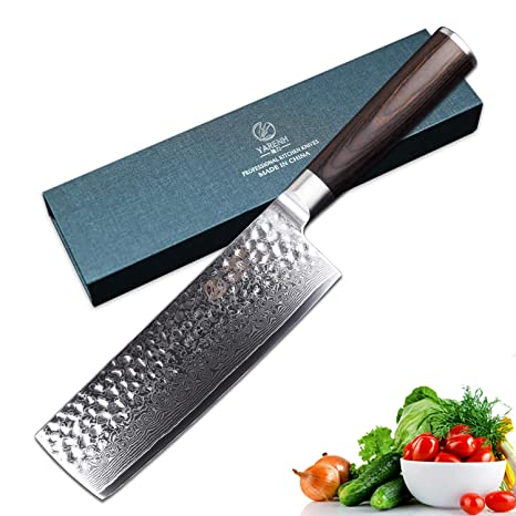 Compra YARENH Cuchillos de Cocina Verdura 17cm - Cuchillo de ...
