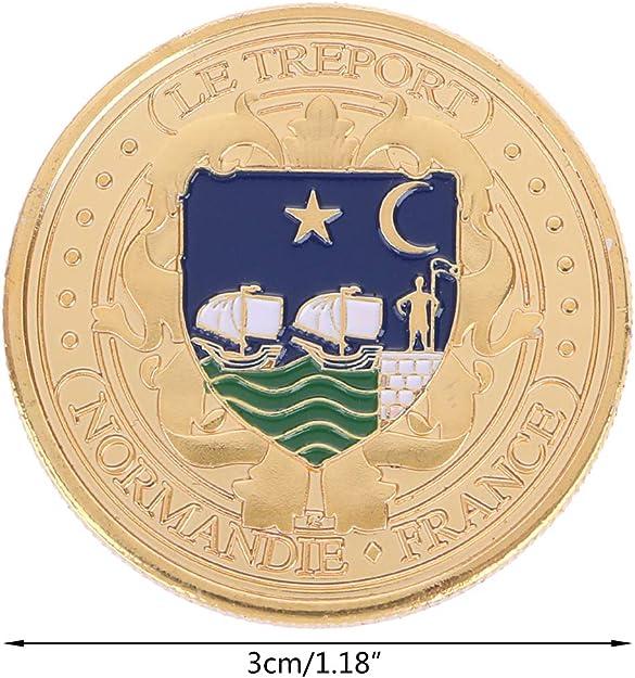 ZijianZZJ - Moneda conmemorativa de la colección de monedas ...