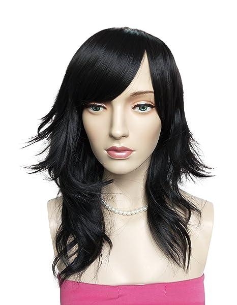 Perruque naturelle Namecute de cheveux raides