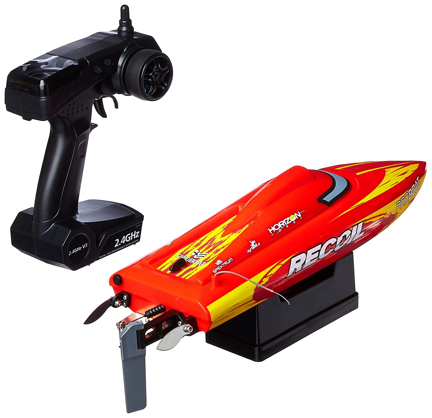 Amazon Pro Boat Recoil 17 inch Self Righting Deep V Brushless RTR RC Boat Toys & Games