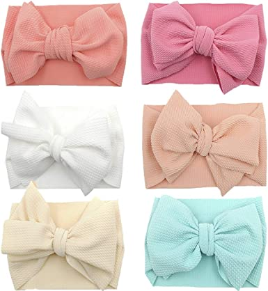 2 Pink Hair Elastic Children girl Hello Kitty Ribbon Stretchy cute Hair bobbles