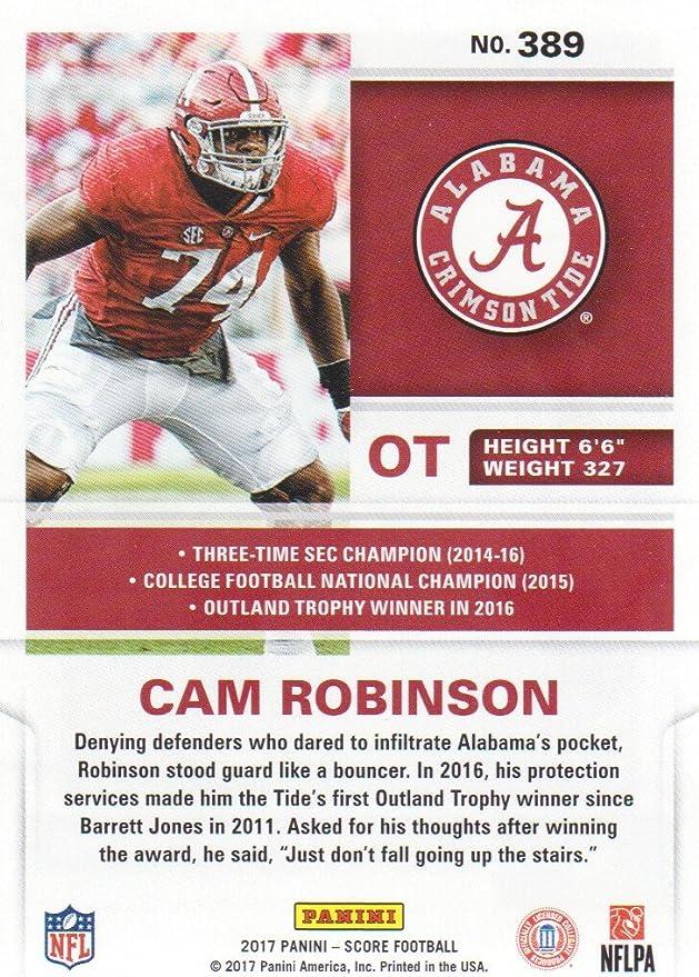 Cam Robinson Alabama Crimson Tide Football Jersey-White