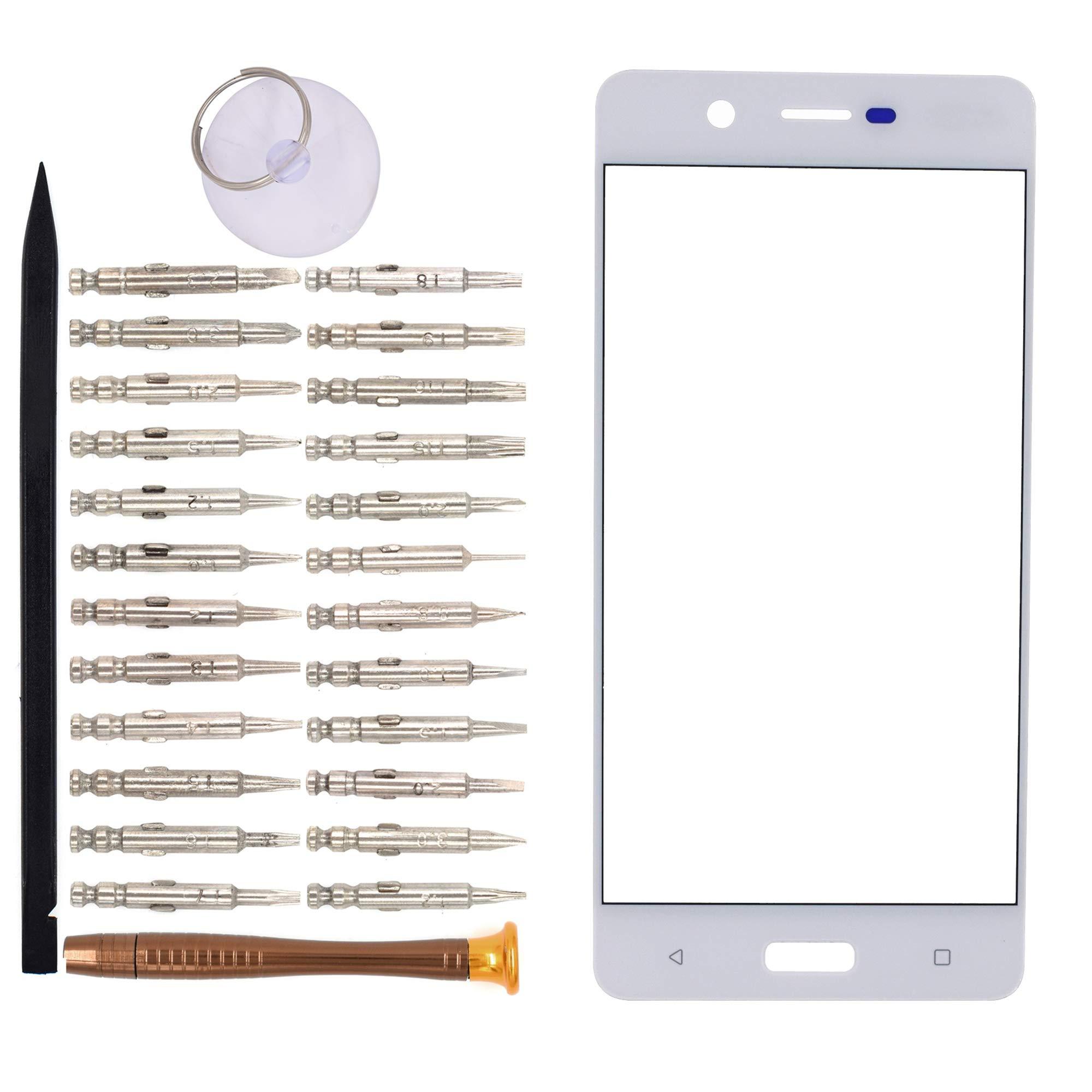 Vidrio Frente Para Nokia 5 Blanco [goodyitou]