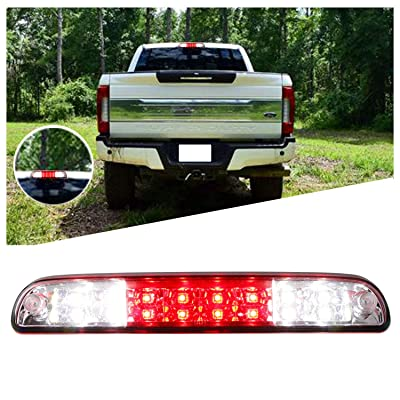 Rear Roof Center LED Third 3rd Brake Cargo Light Center High Mount Stop Tail Light Replacement for Ford F-250/1994-2010 Mazda B2300/ B4000: Automotive