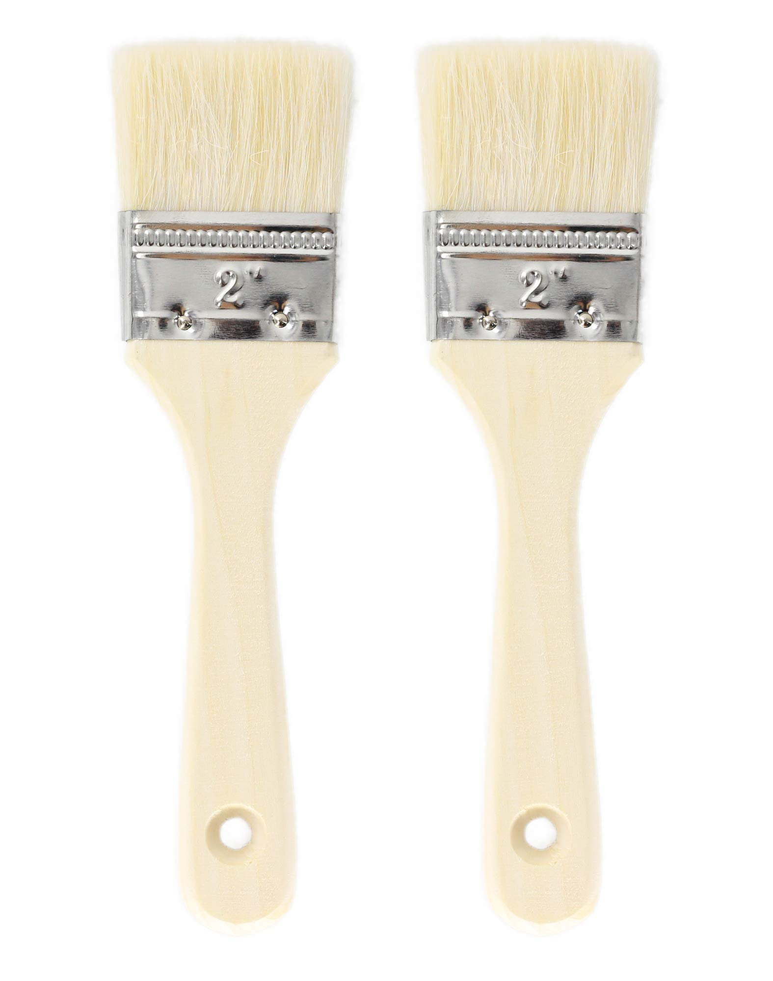 Fiomia Pastry Brush 1 High quality woolen bristle: thick and flexible, safe and eco-friendly, even pasting, beautiful texture, durable Full wooden handle: streamlined design and comfort grip, easy to hang and save space High efficiency: absorbent, save time and effort