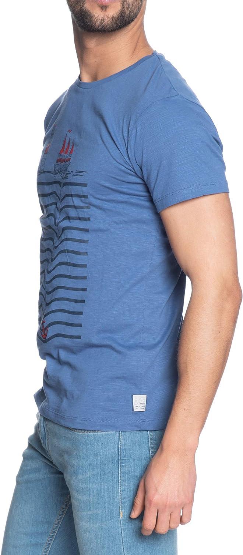 Yes Zee T Shirt Manica Corta Uomo Pervinca