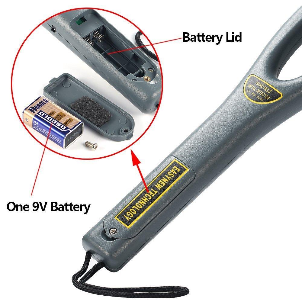 aquiver detector de metales detectores de metal profesional de mano, seguridad Bounty instrumento escáner de alta sensibilidad gc-101h: Amazon.es: Bricolaje ...