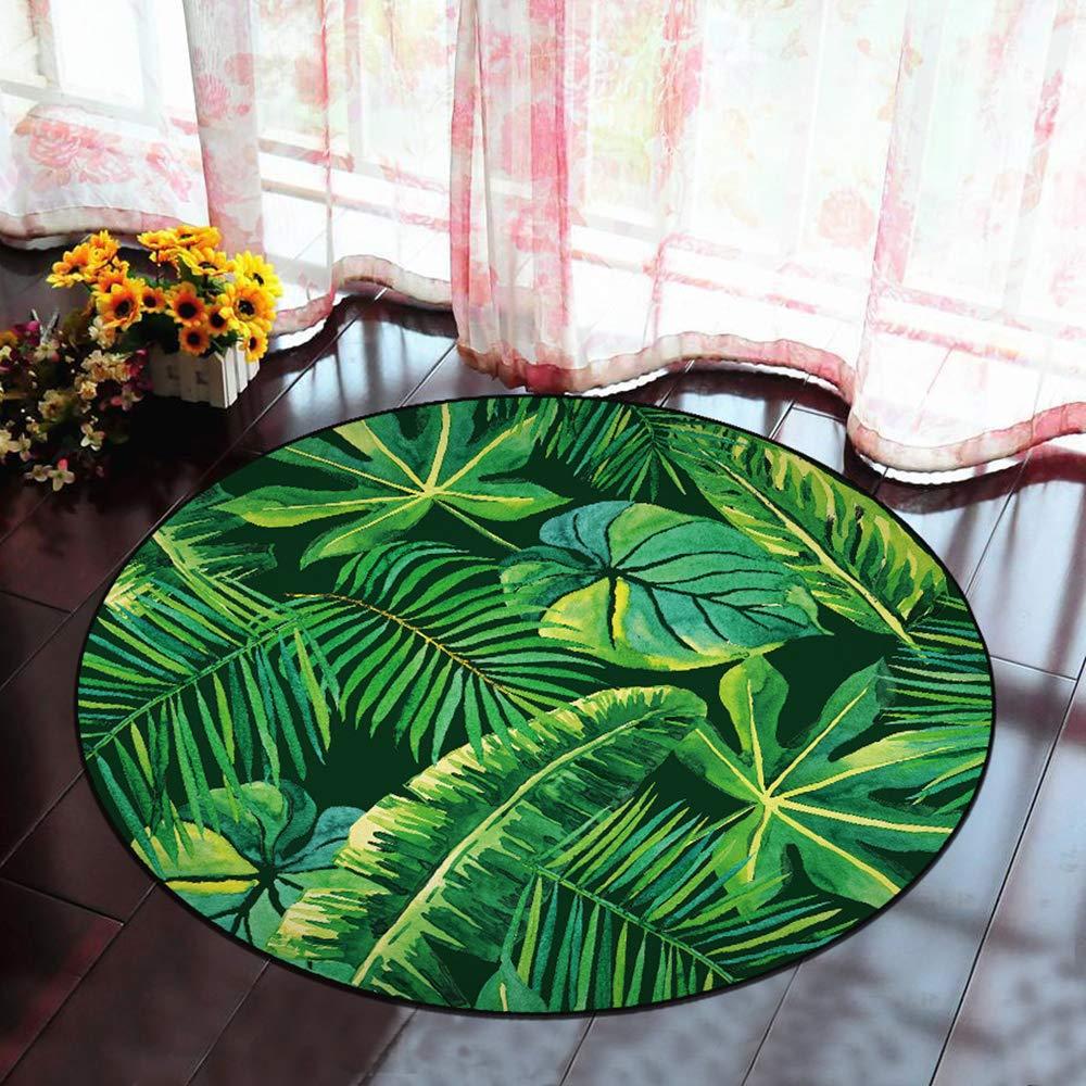 60cm, 1831 Morbuy Tapete Redondo Felpudos Alfombra 3D Alfombras Piso Moqueta Mats Pad para Habitaci/ón Decorativo
