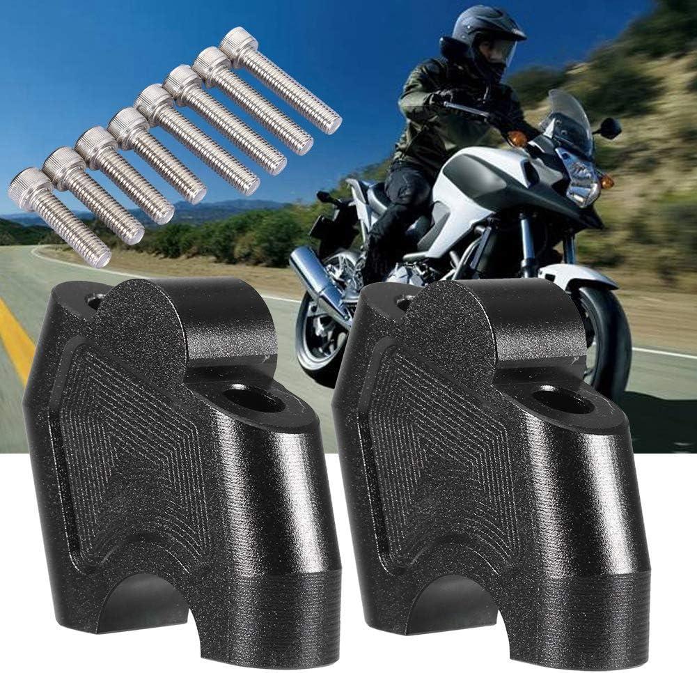 elevador de motocicleta Elevador de motocicleta con 2 abrazaderas y tornillos se adapta a H O N D A NC700X NC700S NC750X NC750S CB500F CB500X Elevador de manillar de motocicleta